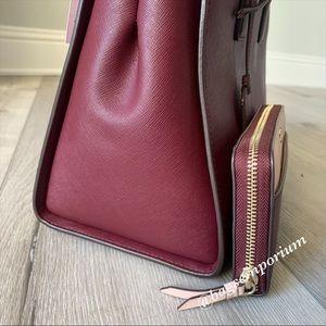 kate spade Bags - Kate Spade LG Leather Cameron Satchel Wallet Set